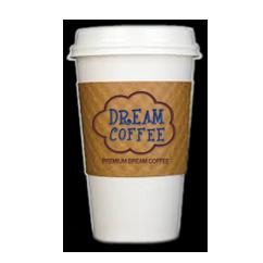 custom printed coffee cup sleeve 2 color