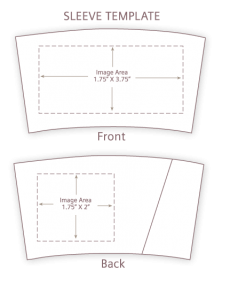 Artwork template front & back