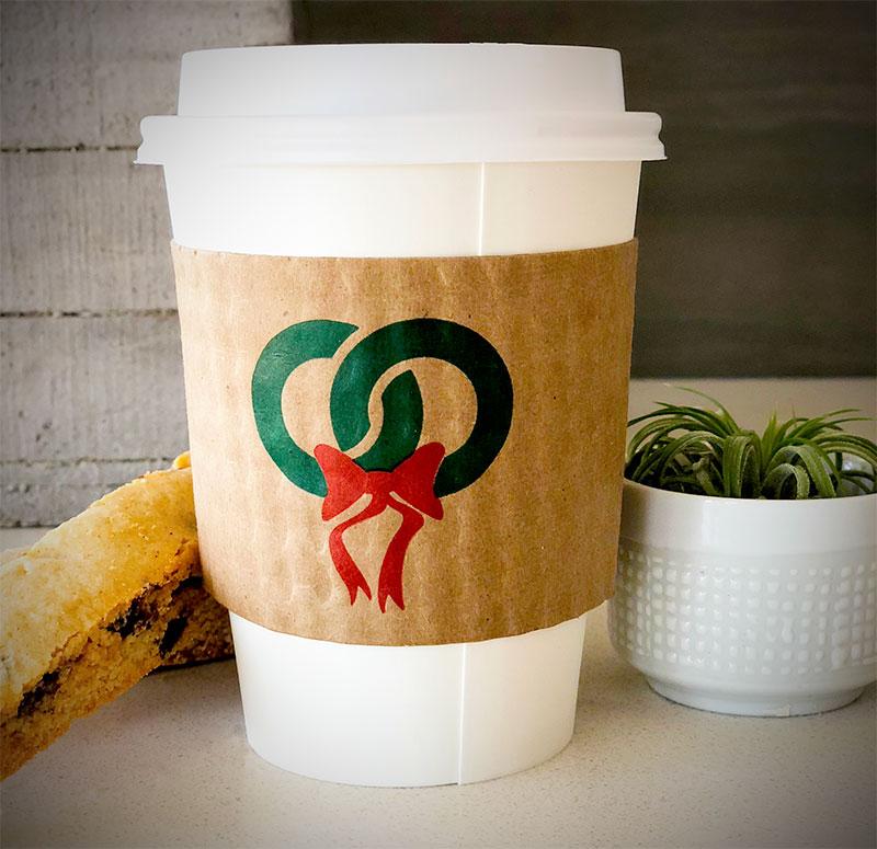 custom printed coffee cup sleeves top quality recycled 11 7 ea