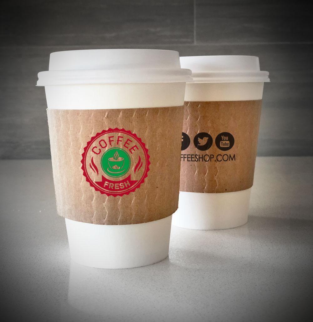 f42189dd9 Custom Printed Coffee Cup Sleeves