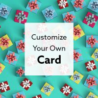 Customize you gift card